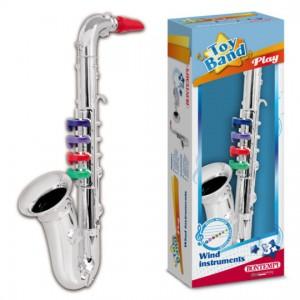 Sassofono Cromato 4 Note -...