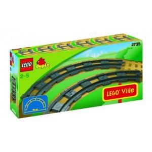 Binari Curvi - LEGO Duplo 2735