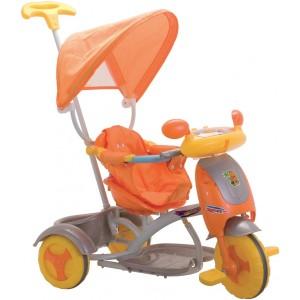 Triciclo Hyppo Arancio Luci...