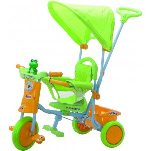 Triciclo Passeggino Verde
