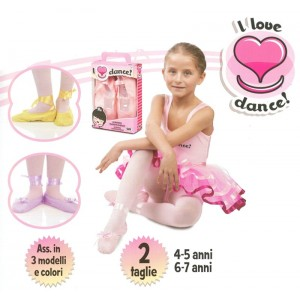 I LOVE DANCE SCARPETTE 02101