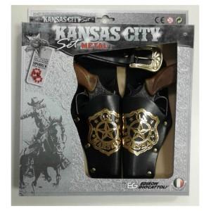 KANSAS CITY SET W.BOX METAL