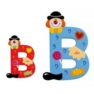 Lettera B Clown