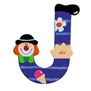 Lettera J Clown