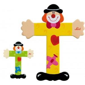 Lettera T Clown
