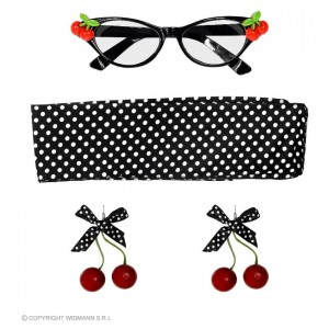50s CHERRY SET (occhiali,...