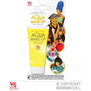 AQUA MAKEUP GIALLO IN TUBO...