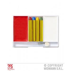 SET TRUCCO CLOWN (4 matite...