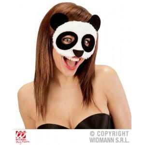 MASCHERA PANDA IN PELUCHE