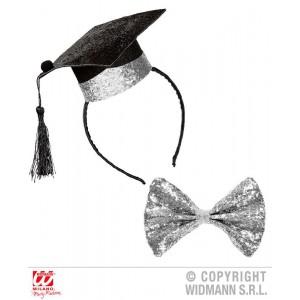 SET LAUREATO (mini cappello...