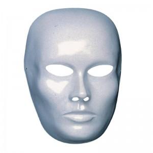 Maschera viso medio bianco...