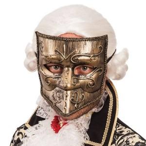 Maschera bautta oro in...