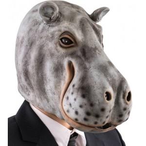 Maschera ippopotamo in...