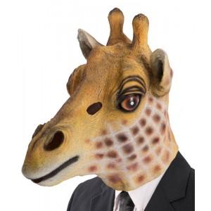 Maschera giraffa in lattice...