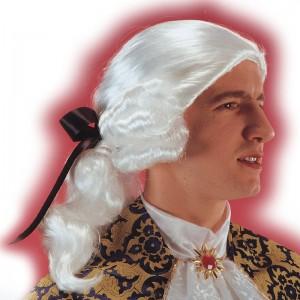 Parrucca cavaliere bianco...