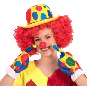 Guanti clown l. cm. 25 ca....
