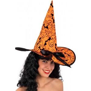 Cappello strega arancione...