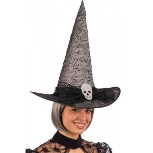 Cappello strega grigio con...