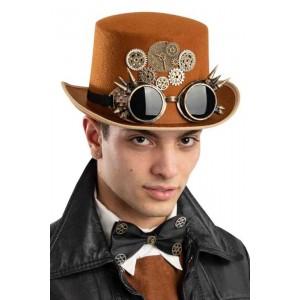 Cilindro marrone steampunk...