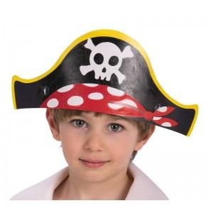 6 cappelli pirata in carta...