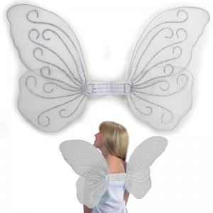 Ali farfalla bianche h. cm....