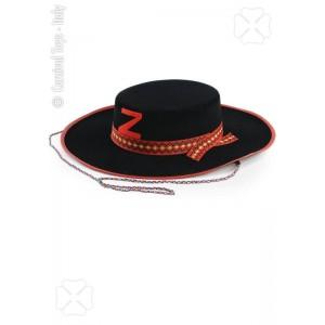 Cappello cavaliere nero...