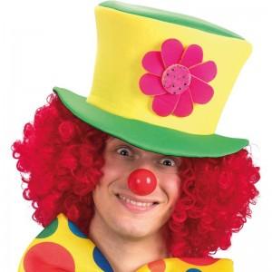 Cappello clown in tessuto...