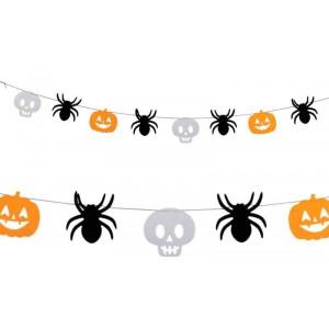 Festone Halloween in feltro...