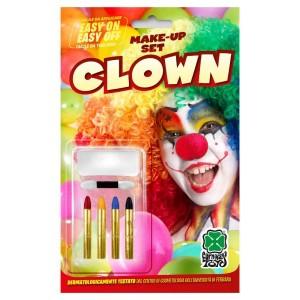 Fondotinta bianco clown + 4...