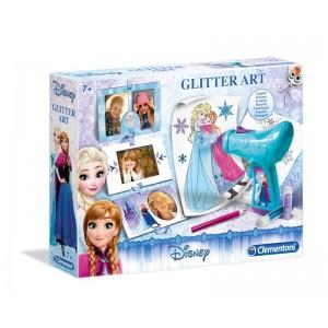 FROZEN - SNOW GLITTER ART