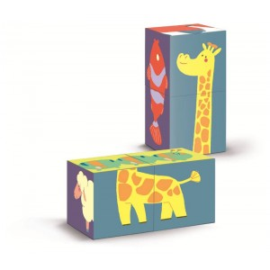 SHAPES CUBES ANIMALS