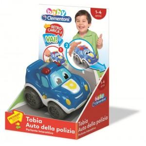 TOBIA AUTO DELLA POLIZIA