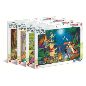 PUZZLE 15 FRAME WINNIE THE...
