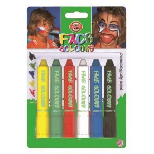 Blister 6 colori da trucco...