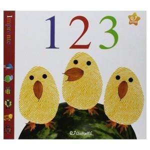 IMPRONTE - NUMERI 1 2 3