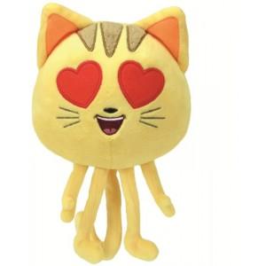 EMOJI 20cm CAT HEART EYE
