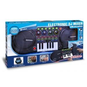 Mixer da dj con microfono