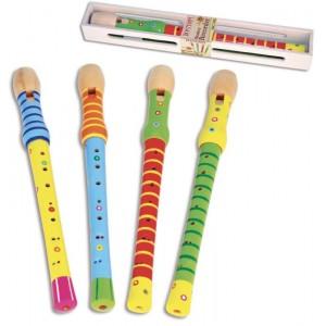 Flauti in legno colorati...