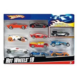HW Confezione 10 veicoli...