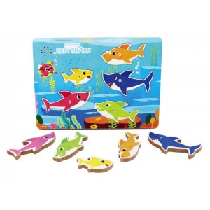 BABY SHARK puzzle in legno...