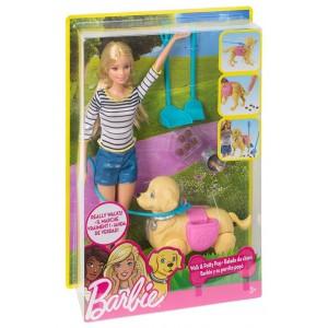 Barbie a spasso coi Cuccioli