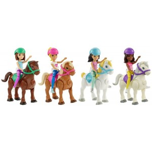 Barbie Parti e Via + Pony...