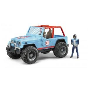 Jeep Cross country race blu...