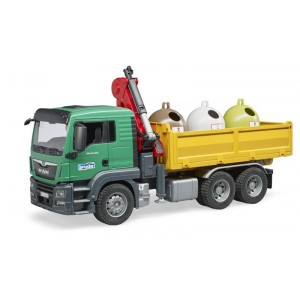 MAN TGS camion ribaltabile...