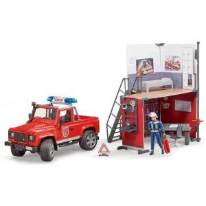 Stazione pompieri con Land...