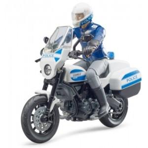 Moto Ducati Scrambler polizia