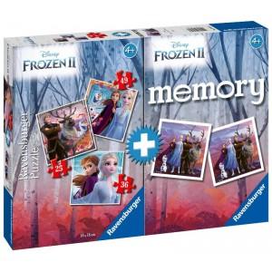 MEMORY CON 3 PUZZLE Frozen 2