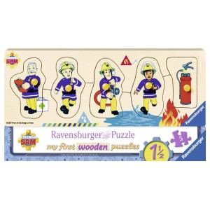 My first wooden puzzle 4-5...
