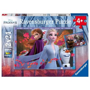 Puzzle 2x24 pz Frozen 2