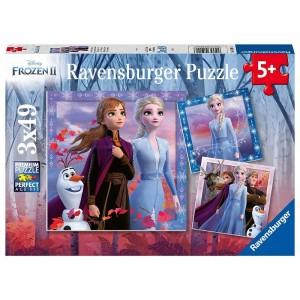 Puzzle 3x49 pz Frozen 2